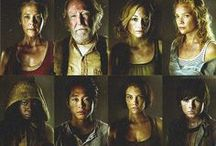 Walkers / A post-apocalyptic world dominated by flesh-eating zombies.