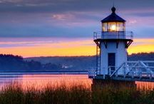 Lighthouses / Lighthouses from around the world. Light in the darkness. A symbol of hope. / by Mona Hodgson