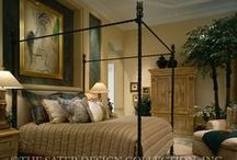 Sumptuous Master Bedrooms - The Sater Design Collection / Spacious master bedroom plans from the Sater Design Collection.