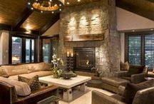 For the Living and Great Rooms / Ideas for style and function in the rooms you live the most.