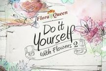 Do it yourself with flowers / Discover the first ebook of Floraqueen and learn how to create cute and fashion accesories with flowers!
