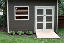 For the Backyard...Garages and Sheds / Ideas for stylish garages, sheds and clever accessories for the backyard.