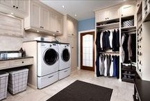 For the Home - Utility, Laundry and Mud Rooms / Ideas for storage and more for the most used room in your home!