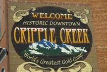 Story Setting: Cripple Creek, Colorado / Cripple Creek, Colorado, serves as the setting for several of my novels and novellas.