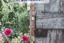 Garden & Shed Organization / This board will give you lots of ideas on how you can organize your garden equipment or shed! | Let's Move LLC
