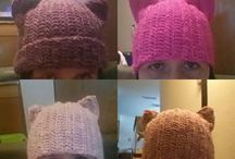 Pussyhats Women's March Hats / Pussyhats of all colors