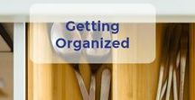 Getting Organized / Getting Organized can make *all* the difference in how you feel about your home and your life! Grab some great tips on home organization in this board. | Let's Move LLC