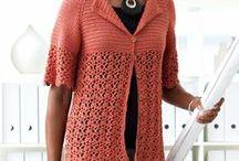 Crochet women's tops, sweaters, etc