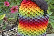 Crochet bags, purses, baskets, etc
