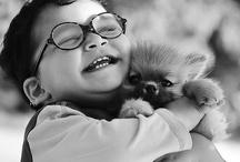 Happy people & pets