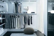 Walk in closets/racks