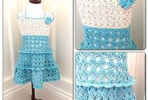 Croches Dresses- Girls&Baby