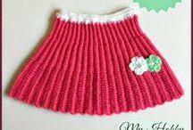 Crochet Skirts- Girls