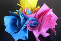 origami/paper / Also see flowers / by dotty dewulf