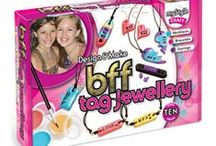 myStyle Craft and Jewellery / Friends, fashion and expressing individuality are all high priority for girls ages 8-12 years. This is where myStyle Craft kits tick all the boxes by enabling girls to create beautiful on-trend jewellery and inspirational gifts they'll be proud to wear and share with friends. https://www.interplayuk.com/mystyle