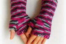 Crochet Mittens, Fingerless Gloves, Arm Warmers, Arm Wristers
