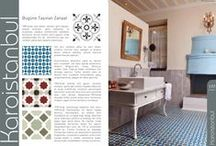 Tiles in the Turkish press Karoistanbul / Tiles in the Turkish press Karoistanbul Encaustic Cement Tile Karoistanbul is the true specialist of encaustic cement floor tiles or mosaic tiles. The technical and esthetic qualities of our production is same as the tiles which were perfected at the end of the last century in Istanbul, Izmir and the other regions of Anatolia.