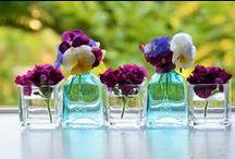 テーブルのお花 / パルテールのレストラン