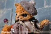 «Ma petite Fée» by Edemskaya Anna / artist teddy bears ooak