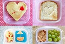 lunch box ideas / healthy, funny lunch boxes, ideas for kids