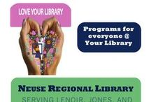 NRL Programs / Programs from the past, present, and future at Neuse Regional Library!