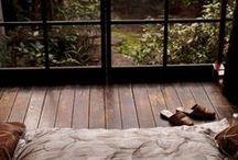 Interior / Interior design, cozy places, bohemian interior, natural