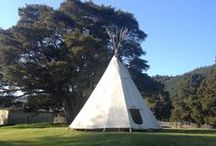 Pigeon Valley Cottage + teepee / Ideas for the Teepee and Kowhai Cottage that we will be renting out soon for holiday makers