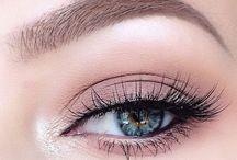 MAKE UP * / | I N S P O | Inspirations & idées de maquillages dénichées un peu partout.  #makeup #inspiration #maquillage #yeux #bouche #teint