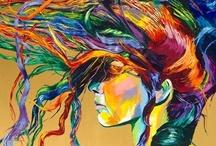 Cores do Arco íris / Coloridos incríveis na natureza, beleza, arte, frutas, tecidos, balões, balas, roupas, acessórios, cabelos, maquiagens etc.