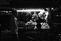 Photoset / Kramat Jati Traditional Market / Photo Series of the traditional market activities Kramat Jati, East Jakarta, in the evening till early morning. All photos taken by Me!