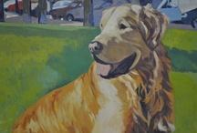 Retratos de mascotas / Retratos de mascotas pintados por la artista Beatriz  Gonzalez www.beatrizgonzalez.com