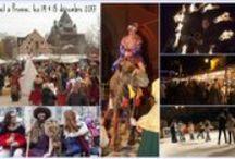 Noël à Provins - 2e week-end de décembre / Provins vous invite à fêter Noël le 2e week-end de décembre ! Une cascade de cadeaux : marché médiéval, crèche vivante avec acteurs et animaux, contes dans les souterrains, marché du terroir, patinoire, train à vapeur et maison du Père Noël, Rose de Noël à la Roseraie de Provins, etc. http://www.provins.net/ Entrée gratuite sauf contes, patinoire, train à vapeur et maison du Père Noël.