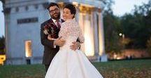 Melanie Potro Real Brides / Beautiful brides wearing Melanie Potro Bridal Couture gowns