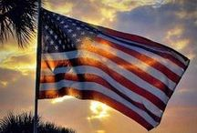 "Our American Flag / ""The red and white and starry blue is freedom's shield and hope."" - John Philip Sousa"