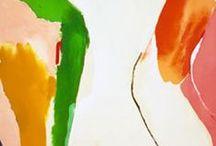 colour fields / colour field painting etc
