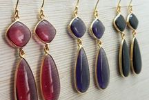 Semi Precious Gemstone Jewelry Collection /  Designer Jewelry Women Fashion Jewelry Collection.I like to call it as a wearable piece of art. Each Piece is Handcrafted using the best.Use Natural Semi Precious Gemstone.