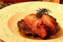 Platos de membrillo con carne / El dulce de membrillo permite elaborar deliciosas salsas y sabrosas combinaciones con las carnes.