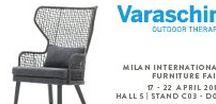 Milan Design Week 2018 / Varaschin at Milan Design Week 2018 17 - 22 April 2018 - Hall 5, Booth C03 - D02 [new position]