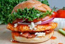 Еда. Бутерброды / by OGY ##