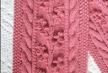 Knitting and Yarn / Everything from stitches and yarns to patterns and tips / by Susan Trayhorn