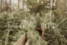 - merry + happy -