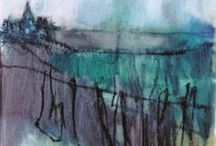My landscape paintings / Inspiration from Yorkshire and Cornwall