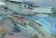 My seascape paintings / Inspiration from Yorkshire and Cornwall