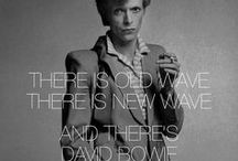 David Bowie: Icon / I was so shocked and devastated by David Bowie's death - a true genius, legend and hero. I listen to his music all the time in the studio - his influence is integral to my artwork and will stay with me forever. Thank you David for all the absolute brilliance you have given us