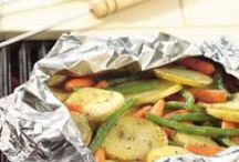 Veggie Grill, Foil Packets, Camping
