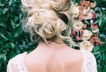 h a i r / Get those locks in check.  Bridal hair & everyday inspo for your tresses.