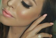m a k e u p / Bridal makeup inspo.