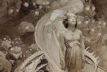 mucha / father of art nouveau
