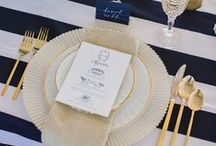 Navy Wedding   Motyw przewodni: see coast / Więcej wyjątkowych motywów przewodnich znajdziesz na: www.dream-design.pl