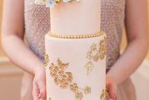 Wedding cake | Tort weselny / Więcej wyjątkowych inspiracji znajdziesz na: www.dream-design.pl